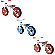 JDBug Kidz Training Bike Kinder-Laufrad Alurahmen 12 Zoll ab 3 J Blau/Orange/Rot