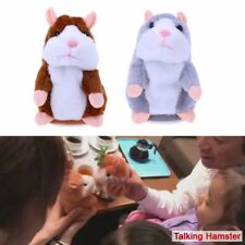 3 Color Mouse Plush Toy Adorable Mimicry Pet Speak Talking Record Hamster F Kids