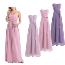 Lady Long Chiffon Bridesmaid Dress Formal Evening Prom Gown party Women's Dress