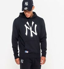 NEW ERA MENS HOODY.MLB NEW YORK YANKEES MLB NAVY HOODED HOODIE JUMPER TOP 8S 004
