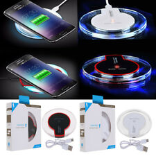 Qi Wireless Fast Charger Charging Pad Mat for Samsung Galaxy S8 iPhone X 8 7plus