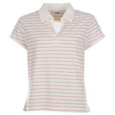 Womens Ashworth Golf Polo In Cream And Red From Get The Label