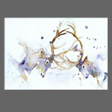 JEN BUCKLEY signed LIMITED EDITON PRINT of my original stags