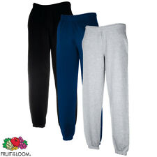 Fruit of the Loom Pantaloni Uomo Sweat Pants Fascia Elastica Taglie Diverse