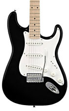 Fender Squier Affinity Stratocaster Electric Guitar, Black, Maple (NEW)