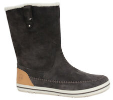 Timberland Casc Bay Warm Lined Pull On Womens Boots Brown 8410R D33