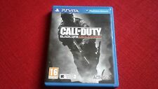CALL OF DUTY BLACK OPS DECLASSIFIED PS VITA GAME