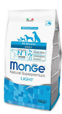 Monge Superpremium Light all breeds salmone per Cani