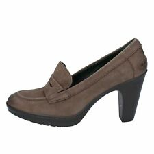 scarpe donna SOUTH SIMON decolte marrone pelle AJ881