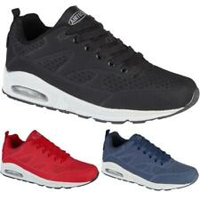 New Mens Sport Fitness Air Tech Sneakers Lace Up Gym Running Trainers Shoes Size