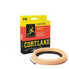 Cortland 444 Sink Tip Weight Forward Fly Line Use for Pike Trout Bass or Salmon