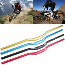 NEW MTB Mountain Bike Bicycle Aluminum Alloy 31.8 x 780 mm Riser Handlebar *@