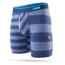 """STANCE MENS BOXER SHORTS.BOXED MARINER STRIPED 7"""" FLY TRUNKS BRIEF UNDERWEAR 8S1"""