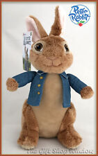 PETER RABBIT THE MOVIE SOFT PLUSH TOY PETER OR FLOPSY POTTER 24cm NEW 2018