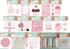 Crafters Companion Sara Signature Collection  VINTAGE TEA PARTY  Cardmaking