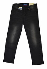 Tom Tailor Jeans Ryan black denim with patches Hose Jungen Neu