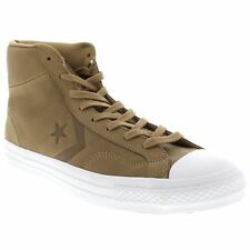 Converse Star Player Hi Sand Dune Femmes Cuir High Top Baskets