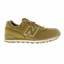 New Balance 574 Heritage Sport Tan Youths Trainers