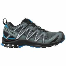 Salomon XA Pro 3D Stormy Weather Black Mens Mesh Lace-Up Hiking Trekking Shoes