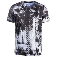 Mens adidas Climachill Graphic T-Shirt In Black White From Get The Label