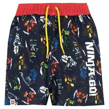 Lego Ninjago Swim Shorts l Boys Lego Ninjago Swimming Trunks l Lego Swim Shorts