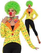 variopinto CLOWN FRAC giacca donna Circo Clown Costume Showgirl