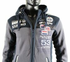 GEOGRAPHICAL NORWAY SUDADERA CAPUCHA hombre hoodie Jersey Talla M/19324