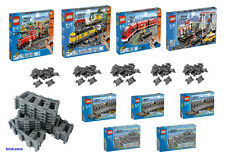 LEGO CITY Ferrovia Set SCELTA 7937/7938/7939/3677 /7499/7895 e binari