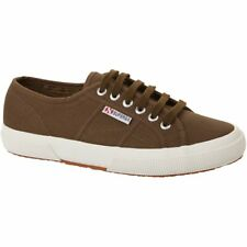 Superga 2750 Cotu Unisexe Chaussures Chaussure - Military Green Toutes Tailles
