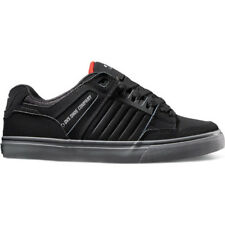 Dvs Celsius Ct Hommes Chaussures Chaussure - Black Charcoal Red Nubuck Deegan