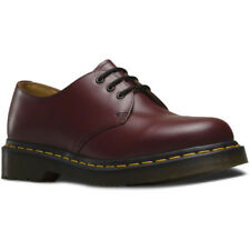 Dr Martens 1461 Smooth Hommes Chaussures Chaussure - Cherry Red Toutes Tailles