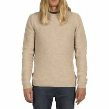 Volcom Oldon Crew Hommes Pull Sweater - Sandstorm Toutes Tailles