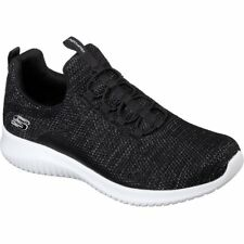 Skechers Ultra Flex Capsule Femmes Chaussures Chaussure - Black White