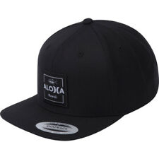 Hurley Aloha Cruiser Hommes Couvre-chefs Casquette - Black Une Taille