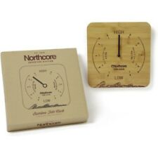 Northcore Adventure Wall Mounted Time And Unisex Surf Gear Tide Clock - Bamboo
