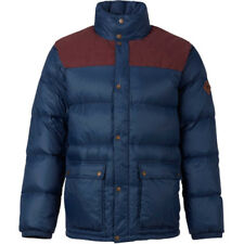 Burton Heritage Collared Mens Jacket Down - Chestnut Cord Mood Indigo All Sizes