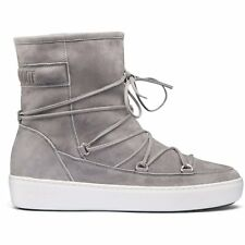 Moon Boot Pulse Mid Femmes Bottes - Light Grey Toutes Tailles