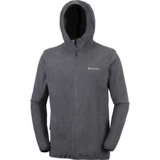 Columbia Tough Hiker Full Zip Hooded Hommes Veste Polaire - Graphite Black