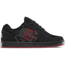 Etnies Swivel Hommes Chaussures Chaussure - Black Red Toutes Tailles