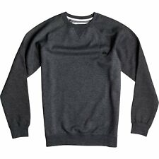 Quiksilver Everyday Crew Hommes Pull Sweater - Dark Grey Heather Toutes Tailles