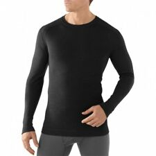 Smartwool Nts 250 Midweight Crew Hommes Seconde Peau - Black Toutes Tailles