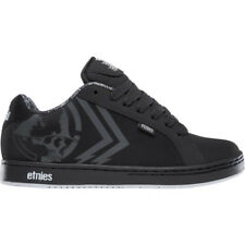 Etnies Fader Hommes Chaussures Chaussure - Black White Toutes Tailles