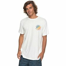 Quiksilver Rocky Rights Hommes T-shirt à Manche Courte - Snow White