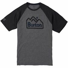 Burton Mountainjack Active Hommes T-shirt à Manche Courte - Grey Heather
