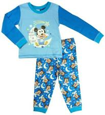 Boys Baby Disney Mickey Mouse Wish Upon a Star Cotton Pyjamas 6 to 24 Months