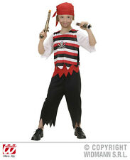Costume de pirate pirate, ENFANTS CARNAVAL TAILLE 128, 140, 158 + rouge foulard