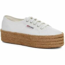 Superga 2790 Cotropew Femmes Chaussures Chaussure - White Toutes Tailles