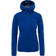 North Face Inlux Hooded Femmes Veste Soft Shell - Sodalite Blue Toutes Tailles