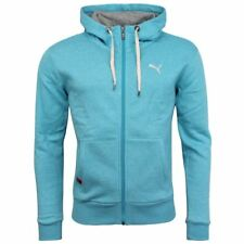 Puma Zip Up Sky Blue Womens Hooded Jacket 894033 02 P1
