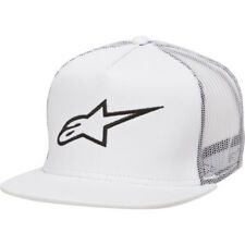Alpine Stars Corp Trucker Hommes Couvre-chefs Casquette - White Une Taille